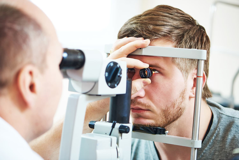 Ophthalmology eyesight examination