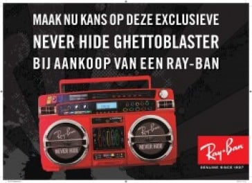 Supercolle Ray-Ban Ghettoblaster