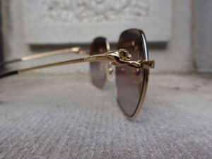 Cartier bril opticien eindhoven tiel venlo panter detail